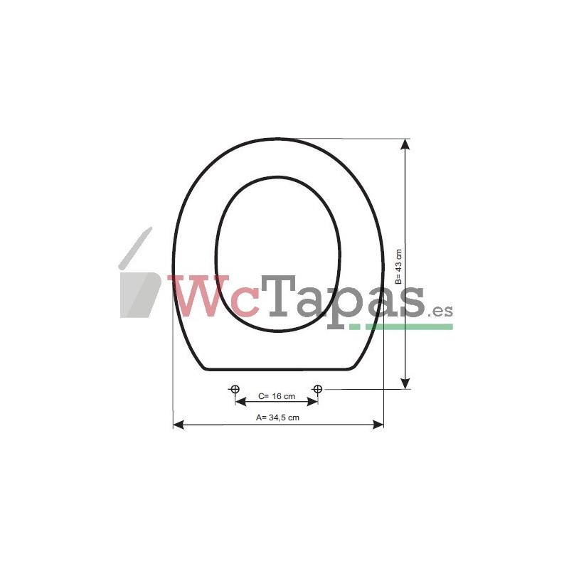 2f57617e31 Tapa Wc COMPATIBLE Victoria Roca