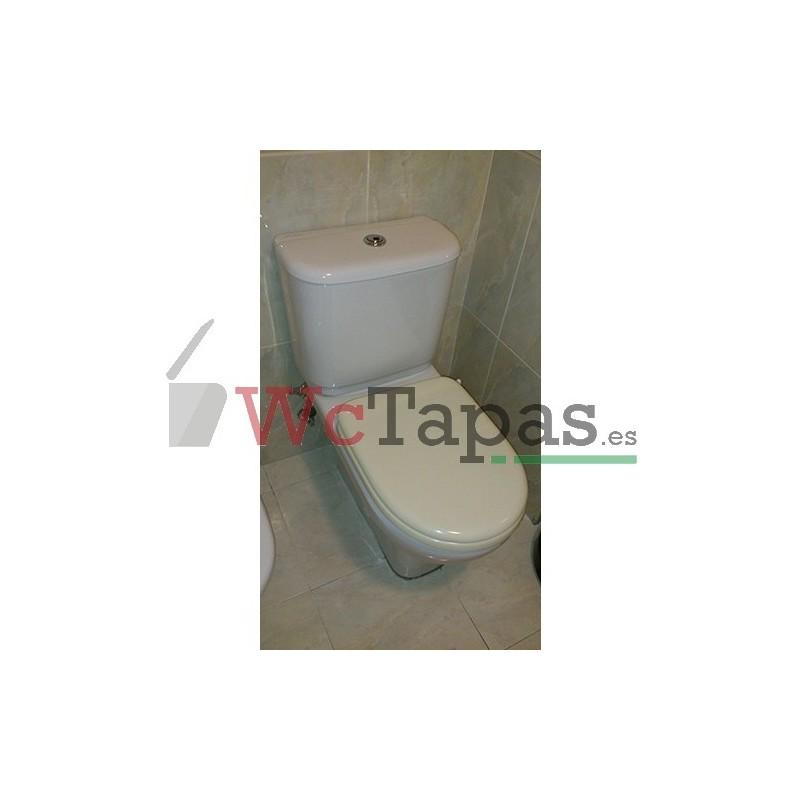Asiento inodoro compatible altair jacob delafon - Tapas wc decoradas ...
