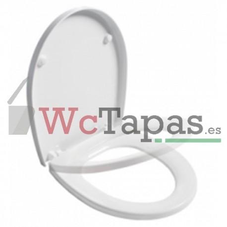Asiento amortiguado inodoro easy unisan wc tapas - Tapas wc decoradas ...