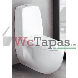 Tapa Wc caída amortiguada ORIGINAL Nautilus Valadares.