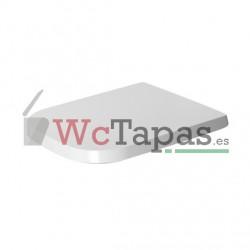 Tapa inodoro P3 Comforts Duravit.