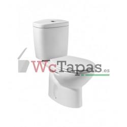 Tapa y asiento Victoria de SUPRALIT ® para inodoro con bisagras acetálicas.