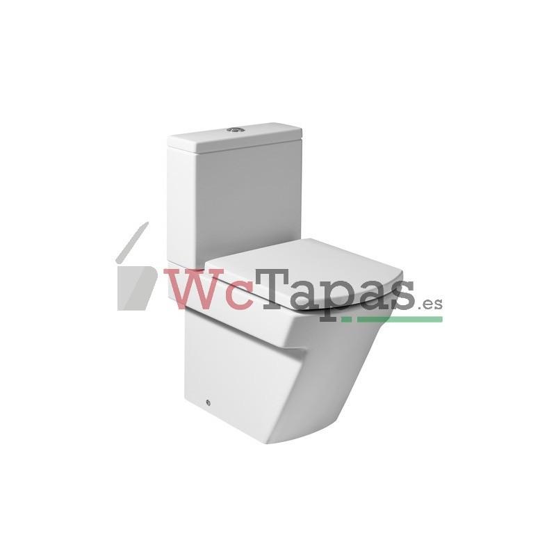Asiento inodoro hall compacto roca wc tapas for Inodoro hall medidas