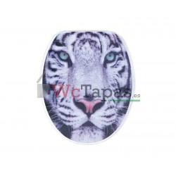 Tapa Wc G-Granato Dibujo Tigre 3D.