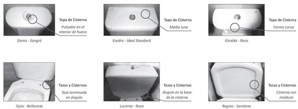 Tapas para inodoros gala elegant gala asiento y tapa for Inodoro gala universal