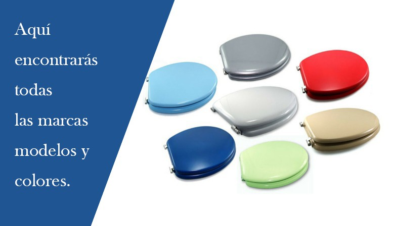 Tapas Inodoro Compatibles y de Color
